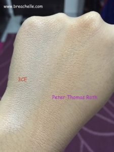 Perter Thomas 3CE Back to baby swatch-001