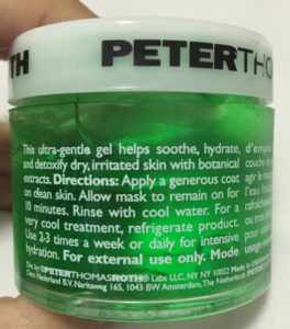 Peter Thomas Roth Cucumber Mask Review