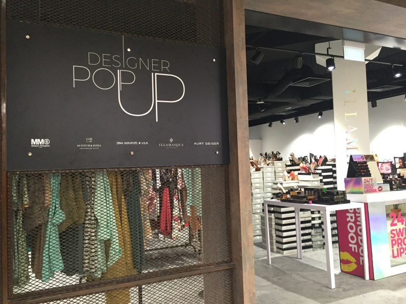 imm outlet mall designer pop up store
