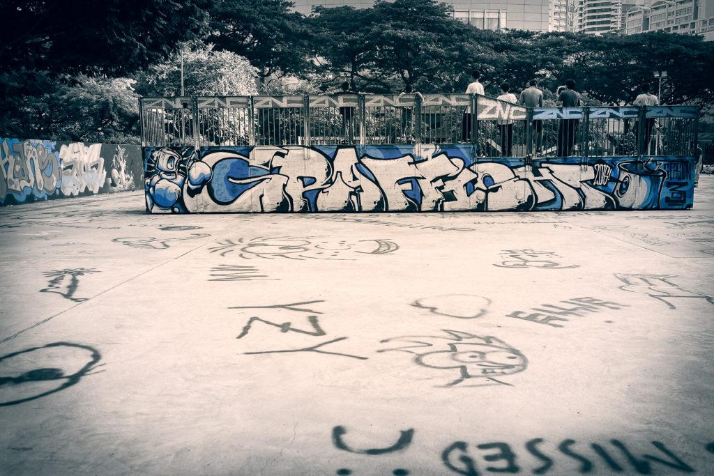 Somerset Skate Park along Orchard Road
