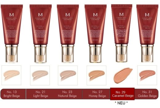 Missha Cover Perfect BB Cream